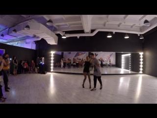 Евгений и Кристина Лисуновы - salsa on2
