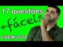 🔴 17 Questões de Matemática MAIS FÁCEIS do ENEM 2018 👉 Matemática Rio