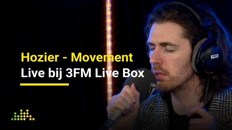 Hozier - Movement   Live bij 3FM Live Box
