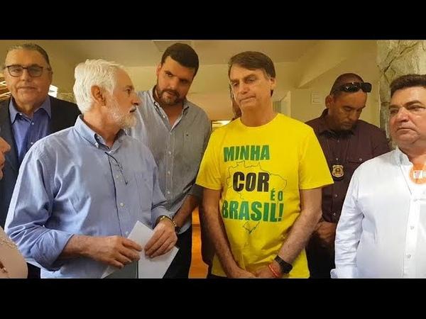 AO VIVO: BOLSONARO RECEBE APOIO DE 3,700 PREFEITOS