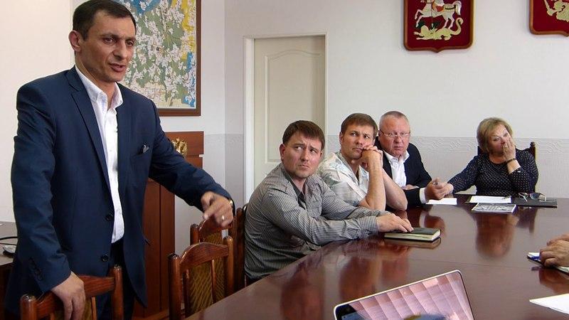 Встреча в администрации по ТБО Кулаковский 07.05.2018, часть 2