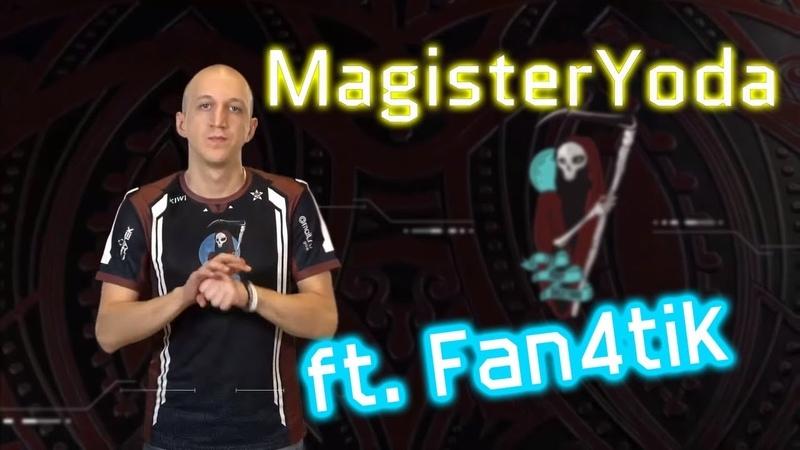 Как Магистр Йода/ MagisterYoda ИГРАЕТ WARFACE (feat. Fan4tik)