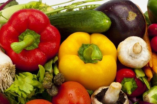 Содержание полезных веществ во фруктах и овощах в зависимости от их цвета