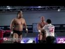 Suwama Dylan James vs Joe Doering Gianni Valletta AJPW Summer Explosion 2018 Day 9