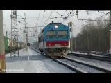 Автомотриса АЧ2-088, электропоезд ЭД4М-0328, SergeySergeevichE