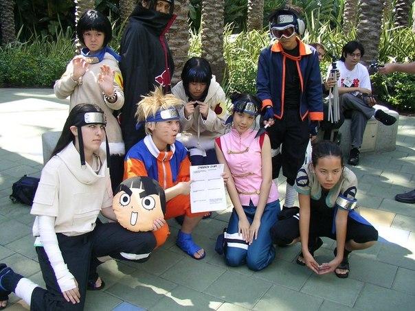 Наруто косплей (Naruto фото картинки)!