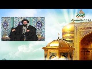 Seyid Hesen Amuli-Imam Rza (e) aganin şəfaəti.