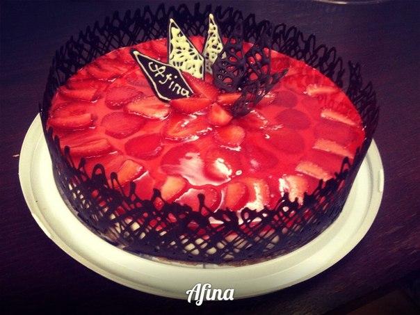 Украшение торта желе фото