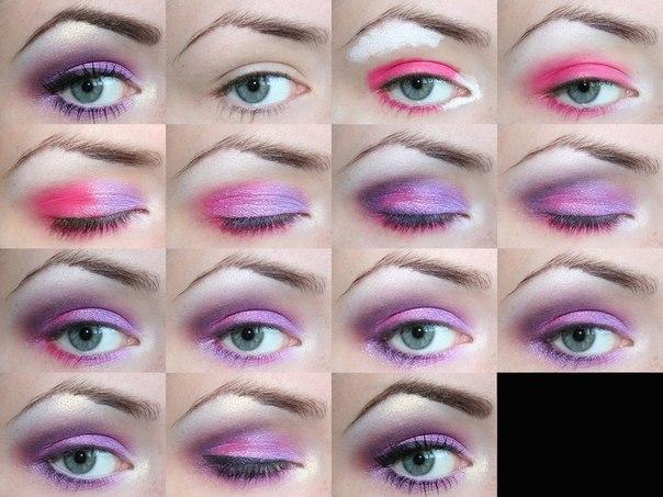 фото макияж для карих