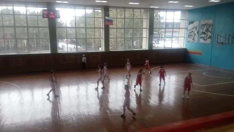 № 2 Тайшет - Саянск -2 ( 70 : 6 ). Пер-во Ирк. обл. по баскетболу среди девушек 2002 г.р.