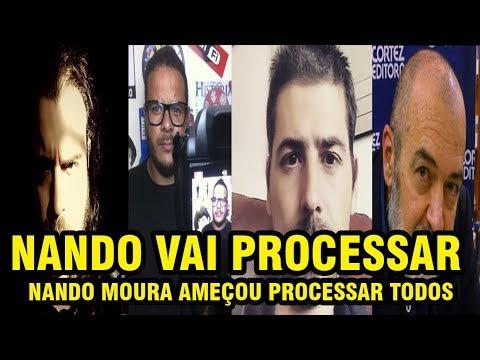 NANDO MOURA ME CHAMA DE IDIOTA EM VIDEO E AMEAÇA PROCESSAR O HENRY E TODOS DA RESISTÊNCIA