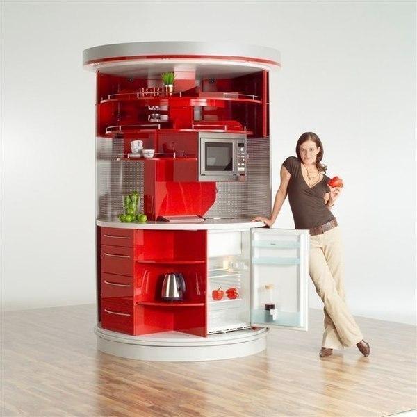 Ну очень компактная кухня (1 фото) - картинка