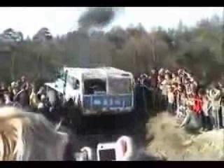 Гонки по Грязи на  грузовиках Урал Татра Камаз