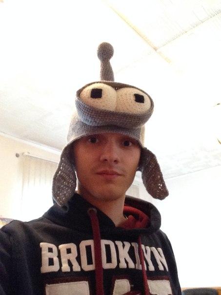 Прикольные шапки Бендер