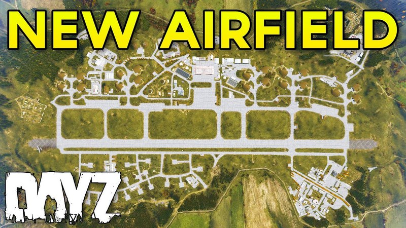 DayZ 0.63 NEW North-West Airfield Fly-By Tour!