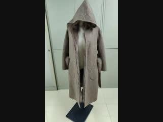 Пальто С мехом детали🥰🥰🥰