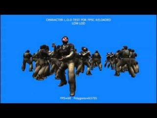 Character LOD For FPSC Reloaded