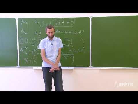 Линейная алгебра Алексей Савватеев и Александр Тонис Лекция 7 1 Алгебраические дополнения