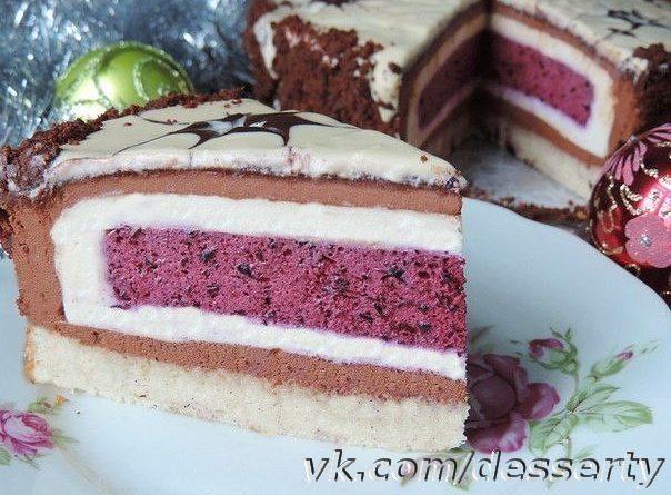 Торт-мусс «Фантазия»