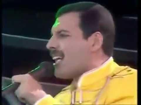 Концерт Queen at Wembley 1986 Квин на Уэмбли