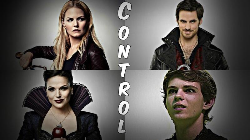 Control - OUAT (Emma Swan, Captain Hook, Peter Pan, The Evil Queen)