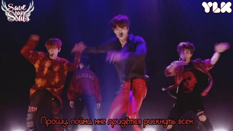 EXO - Lotto (LIVE) (рус. саб)