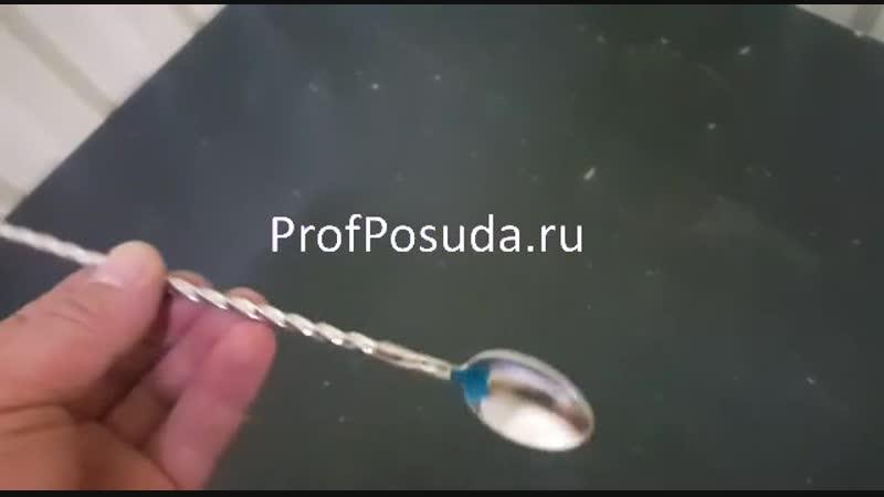 Ложка барменская с мадлером Проотель ПроОтель артикул 23823