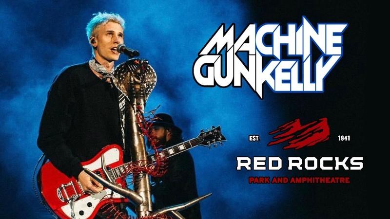 MACHINE GUN KELLY LIVE AT RED ROCKS AMPHITHEATRE!!   FULL SET FRONT ROW