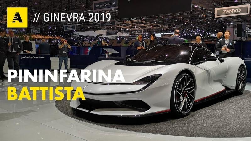 Pininfarina Battista 1 900 cv e 300 km h in 12 6 secondi ENGLISH SUB