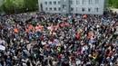Пятитысячный мусорный протест в Сыктывкаре