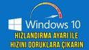 KESİN ÇÖZÜM Windows 10 Hızlandırma Ayarı Turbo Mod