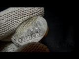 ГДР 10 марок 1989 серебро