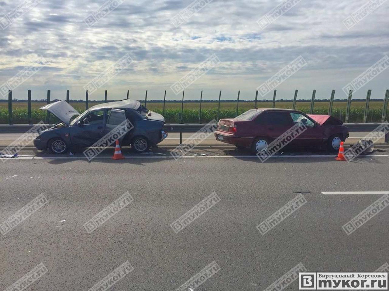"""ДТП 1 июля 2019 года на автодороге M4 - """"Дон"""" фото"""