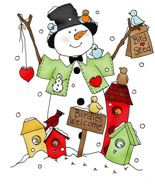 ... 604) | New Year - Christmas illustrations - coloring pages | Pinterest