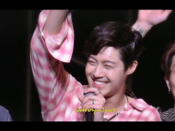 181012 KIM HYUN JOONG JAPAN TOUR 一緒にTake my hand_Last song talk.