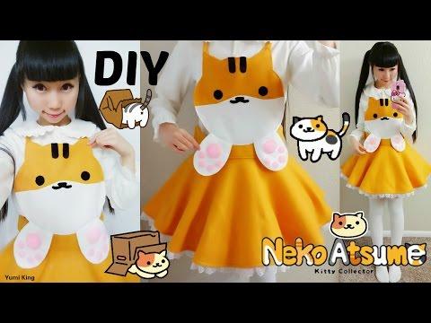 DIY Neko Atsume Cosplay Costume | Easy Sewing | No ZipperElastic
