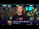 NYC Mayor Bill de Blasio singing I Love LA on Jimmy Kimmel Live