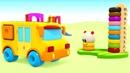 Búho Hophop. Aprender formas. Dibujos animados para niños.