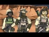 Друзья по Battlefield - Командир в игре [4 Сезон 9 Серия] - [Озвучка КиНаТаН]