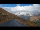 Спуск с перевала Гавиа в Бормио