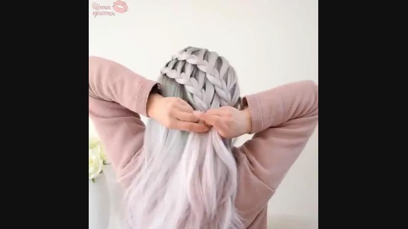 Супер красивое плетение
