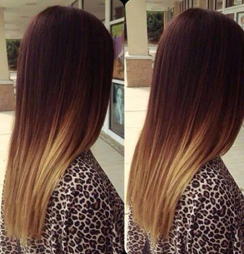 окрашивание коротких волос фото до и после