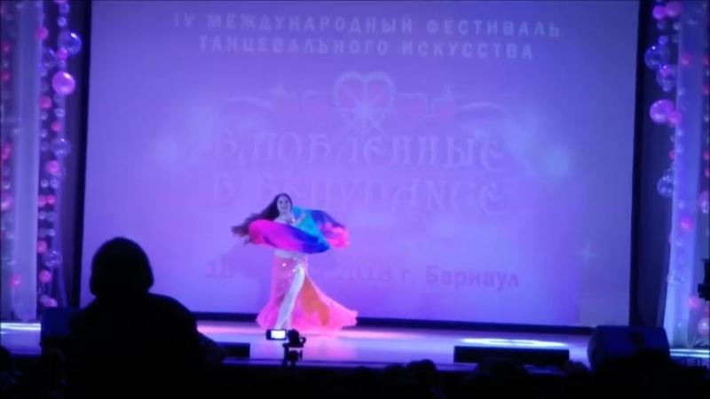 2место Гулидова Татьяна классика профессионалы Влюбленные в Bellydance 19.05.2018