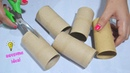5 Ways To Reuse/Recycle Empty Tissue Roll  BEST OUT OF WASTE