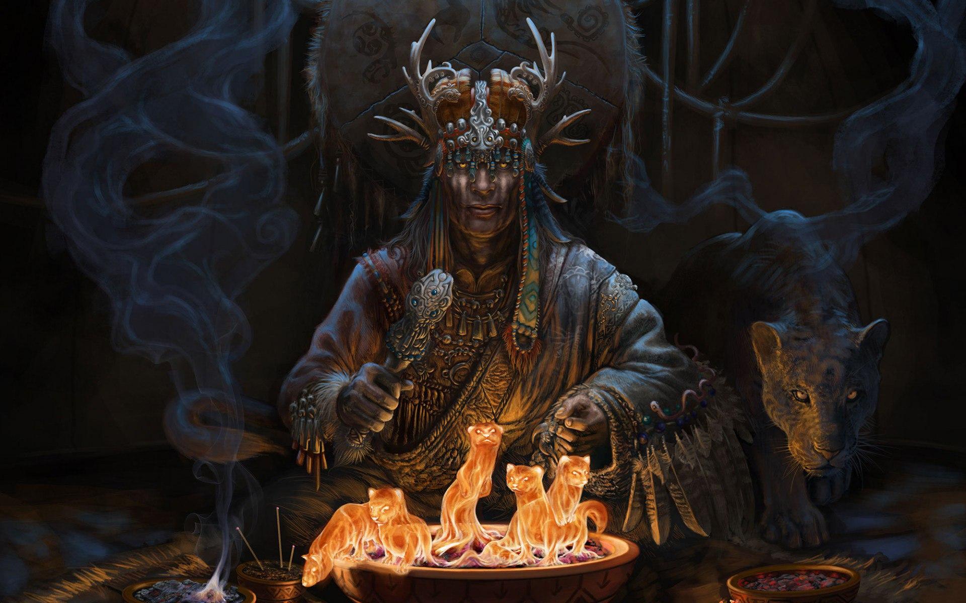 картинки шаман:
