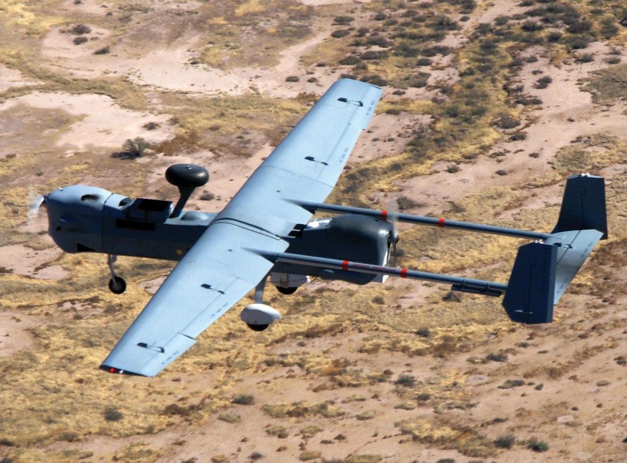 Американский беспилотник MQ-5B перехвачен в небе над Крымом и посажен с помощью ростовского комплекса «Автобаза»