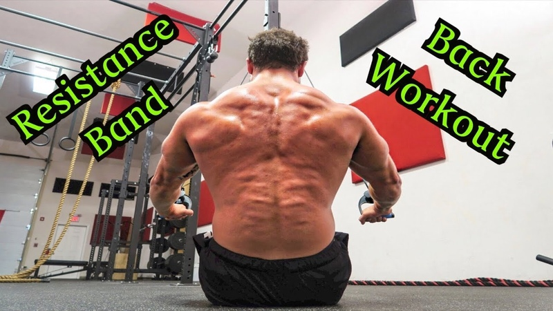 Intense 5 Minute Resistance Band Back Workout