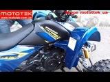 Обзор Квадроцикл Speed Gear Forsage 150 (200) Mototek