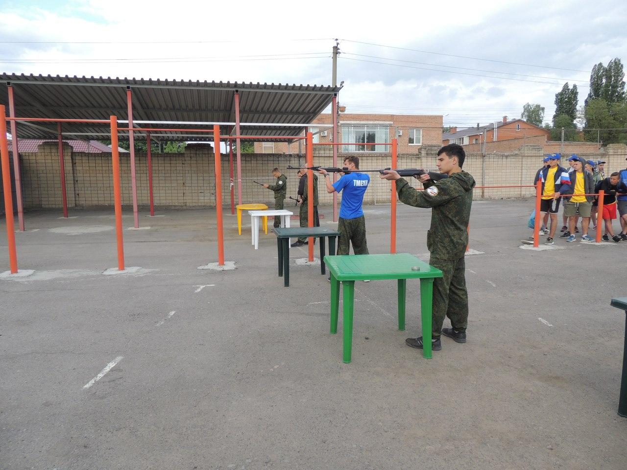 Таганрожцы показали хорошие результаты на областной Спартакиаде допризывной и призывной молодёжи