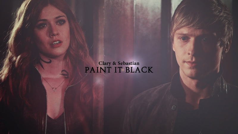 Clary Sebastian ➰ Paint it Black 2x17